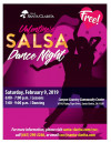 Feb. 9: City of Santa Clarita's Valentine's Salsa Dance Night