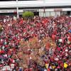 Rallies Cap First Week of LA Teachers Strike