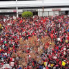 Rallies Cap First Week of LA Teachers Strike