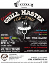 April 13: Grill Master 'Battle of the Champions' Benefiting The Youth Project