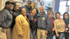 Actress, Comedian Tiffany Haddish Pays Surprise Visit to Camp Scott