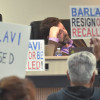 Protesters Press for Barlavi Censure or Ouster at SUSD Board Meeting
