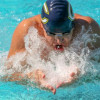 Cougars Swim to Third at Home WSC Meet
