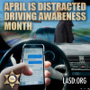 City Says 'Heads Up' During Distracted Driving Awareness Month