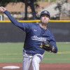 Winslow Pitches Mustangs to Split with Hope Int'l
