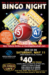 May 11: Hart Baseball Bingo Night