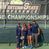 Lady Cougars Doubles Duo Finishes Runner-Up At WSC Championships