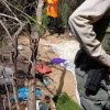 SCV Deputies, Caltrans Workers Visit Homeless Encampments in Valencia