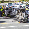 One Hurt in Valencia Crash