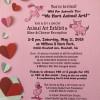 May 11: Wild for Animals Too/We Hart Animal Art Fundraiser