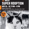 May 18-19: NKLA, County Animal Care Team for Super Pet Adoption Fair