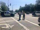 LASD Motorcycle Deputy Injured in Crash