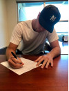 TMU's Winslow Signs Contract with Seattle Mariners