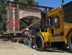 Iconic Rock Arch Returns to Sierra Highway Frontage