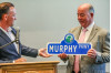 Friends, Family, City Celebrate Mike Murphy Ahead of Retirement