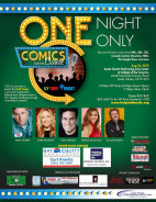 Aug. 22: Comics for the Cause Benefiting SCV Youth Project