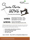 Schedules Announced for Community Sew-In Benefiting SCV Nonprofits