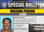 Missing: Willie Paul Davis of Valencia