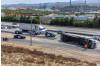 Overturned Big Rig on Interstate 5 Prompts SigAlert, Hard Closure