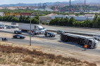 Overturned Big Rig on Interstate 5 Prompts SigAlert, Hard Closure
