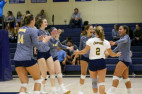Volleyball: Cougars Rally for 3-1 Victory Over Moorpark