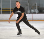 SCV Teen Skates onto LA Kings Ice Crew