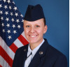 Airman Hill Graduates Basic Training in Texas