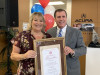 A-1 Party Recognized as Wilk's October Small Business of the Month