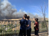 Evacuee: Once we saw the flames, we said 'We can't do this'