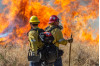 Investigators Look for Jake Fire Cause