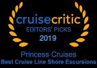 Princess Cruises Named Best Shore Excursions by Cruise Critic
