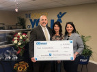 Carousel Ranch Receives $10K Donation from Express Employment Professionals