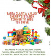 SCV Sheriff's Station Launches 2019 Holiday Toy Drive