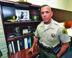 SCV's Top Cop, Capt. Robert Lewis, Now a Commander
