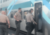 SCV Deputies: Train Passenger Pulls Knife on a Woman