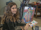 Saugus High Senior Gifts Portraits of Shooting Victims to Parents