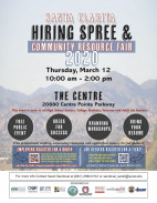 March 12: Santa Clarita Hiring Spree & Community Resource Fair 2020