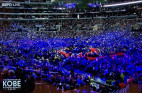 Thousands Gather to Honor Kobe and Gianna Bryant