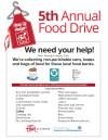 Feb. 10-29: Flair Cleaners Annual Food Drive