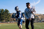 Professional Lacrosse Players Pay Visit to Saugus High
