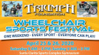 April 25-26: Triumph Foundation's Annual Wheelchair Sports Festival