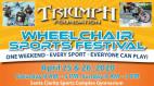 April 25-26: Triumph Foundation's Annual Wheelchair Sports Festival
