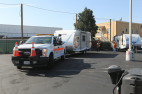 State Delivers Travel Trailers to South LA for Homeless