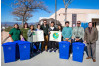 City Donates Recycling Bins to Golden Valley High School