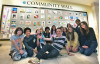 SCV Students Display Art Exhibit on Mall Community Wall