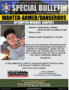 Help Wanted to Locate Attempted Murder Suspect