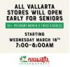 Vallarta Markets Open 7-8 AM for Seniors, Special Needs Only