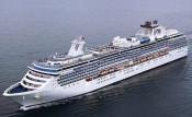 Passengers Begin to Disembark Coral Princess