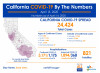 California Wednesday: 24,424 Cases, 61 New Deaths; Fewer Patients in ICU