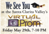 SCV Students Invited to Virtual Prom May 29